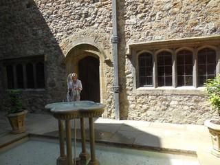 Château de Leeds cour intérieure 1