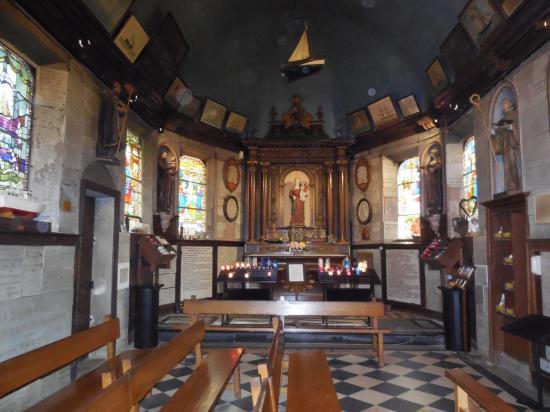 Honfleur la chapelle intérieur