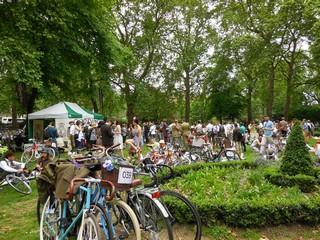 Russel square rassemblement vélos 1