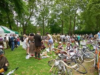 Russel square rassemblement vélos 2