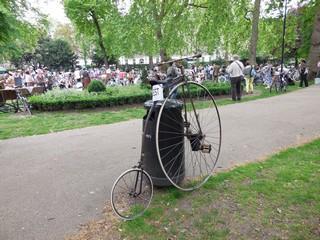 Russel square rassemblement vélos 3