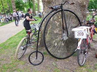 Russel square rassemblement vélos 4