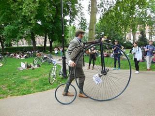 Russel square rassemblement vélos 6