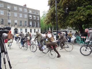 Russel square rassemblement vélos 8