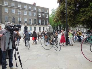 Russel square rassemblement vélos 9