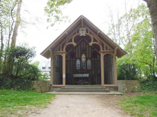 Sur le lieu de la chapelle à Honfleur